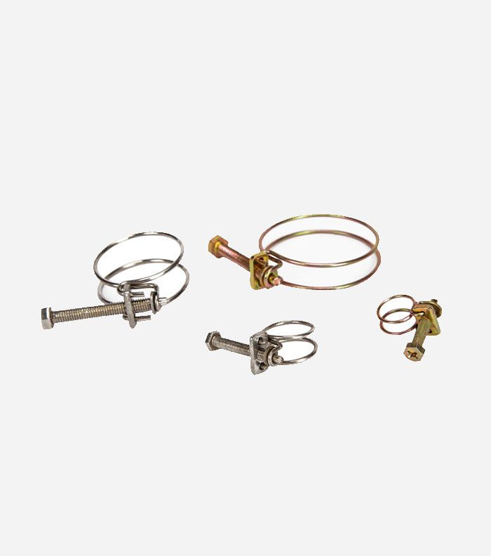 Double Wire Type Hose CLAMP